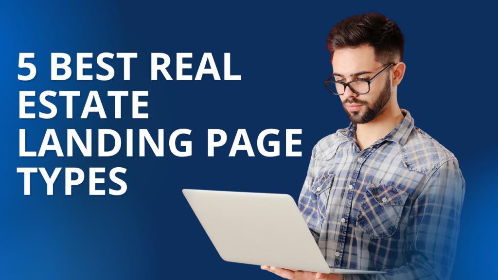 best real estate landing pages