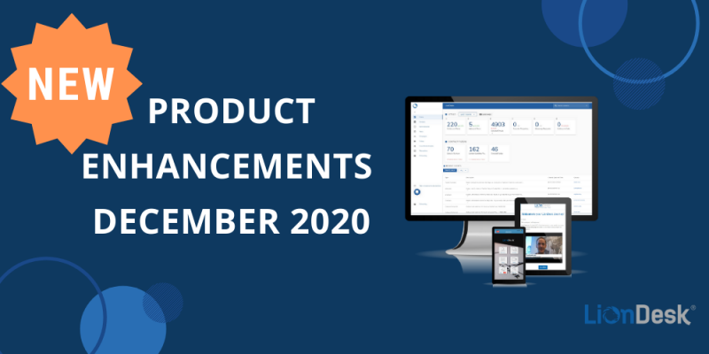 Article - NEW LionDesk Product Enhancements – December 2020