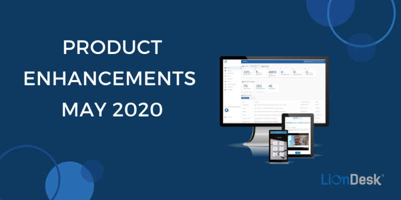Article - LionDesk Product Enhancements: May 2020