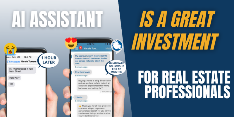 Article - The Close shares how an AI Assistant is a great investment for real estate professionals.