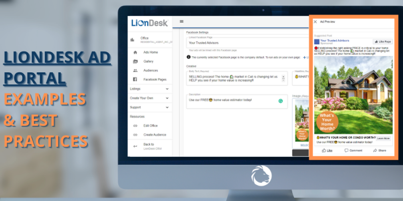 Article - LionDesk Facebook Ad Portal Examples & Best Practices