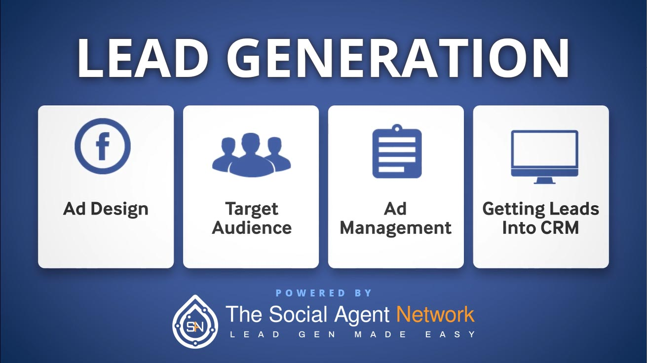 Lead Generation - Powered by The Social Agent Network - Play Video